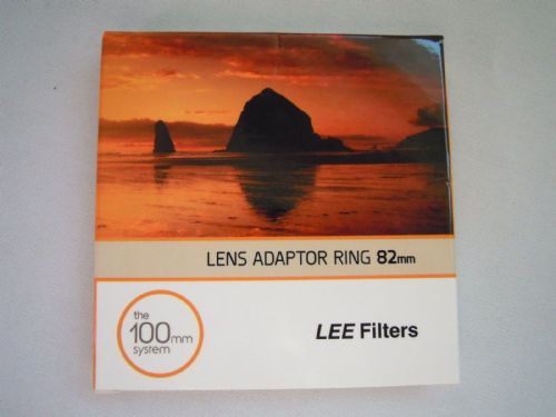 LEE FILTERS 82MM LENS ADAPTER RING THE 100mm SYSTEM